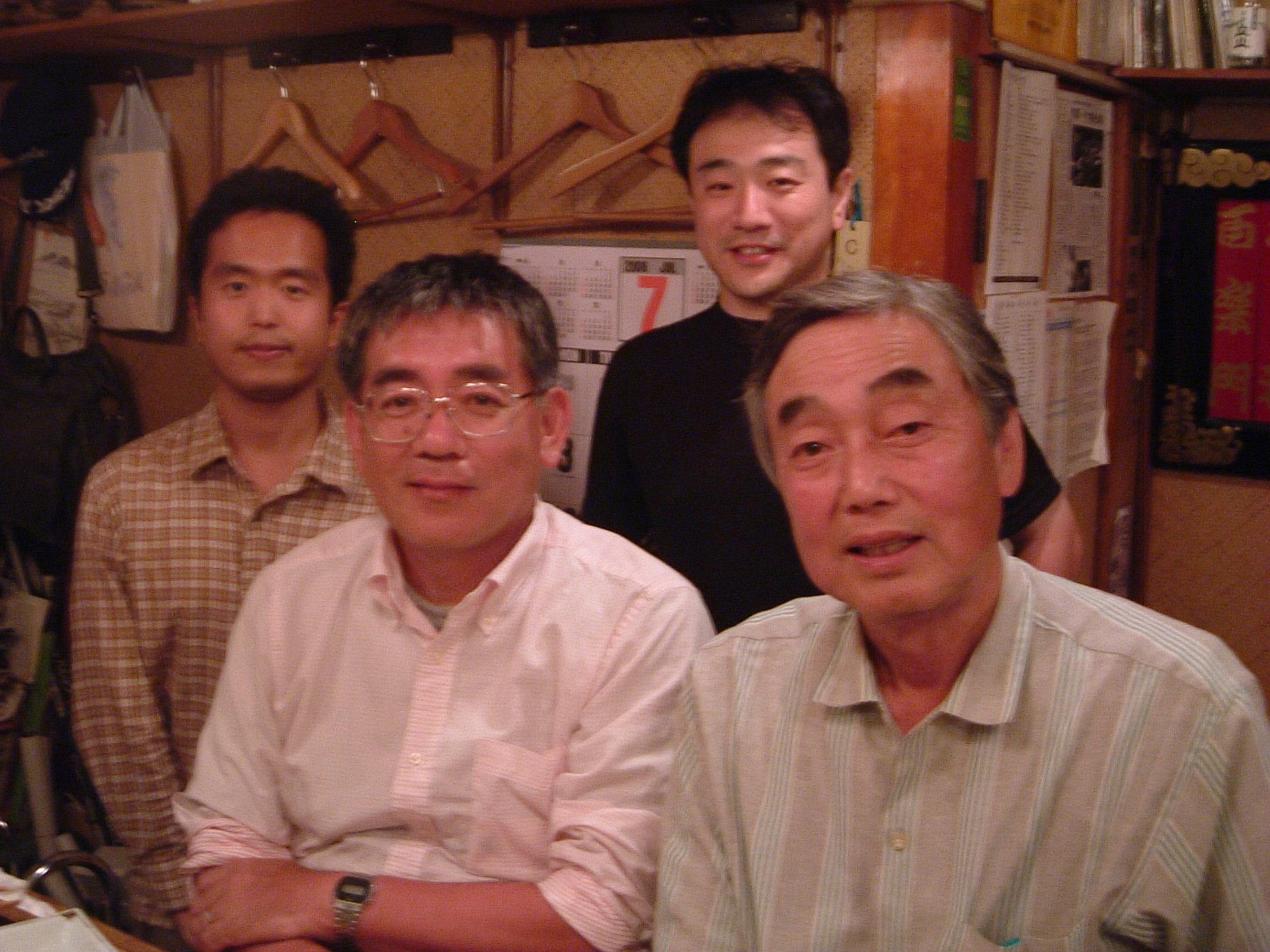 五町田酒造の勝木先生と